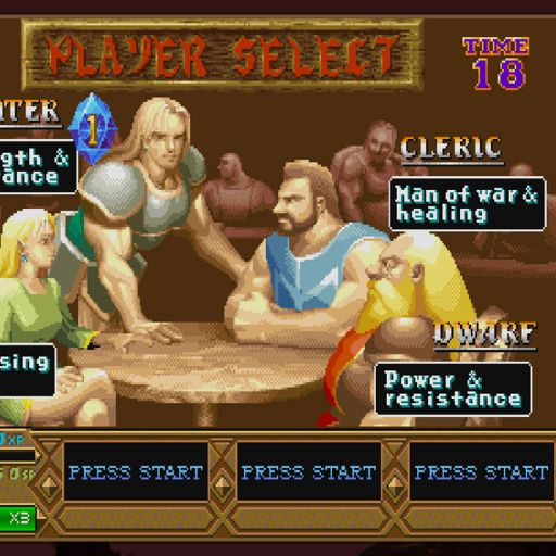 Retro Warriors 132 Dungeons Dragons Chronicles Of
