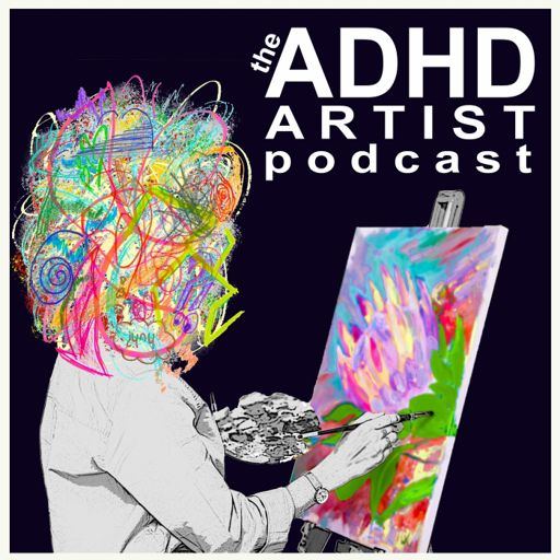 Cover art for podcast The ADHD Artist Podcast