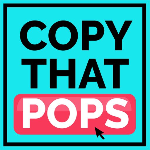 Cover art for podcast Copy That Pops: Writing Tips and Psychology Hacks for Business