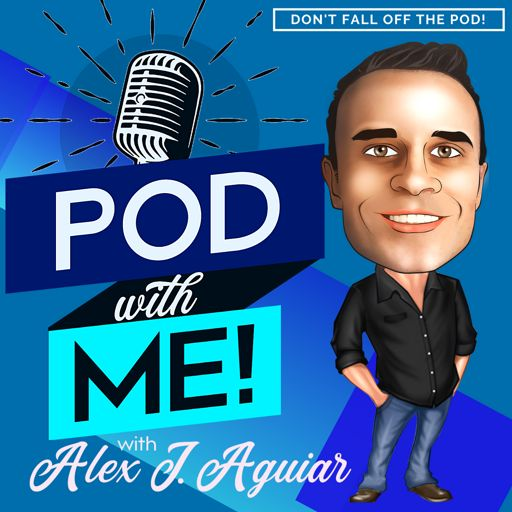Cover art for podcast Pod with Me! Alex J. Aguiar