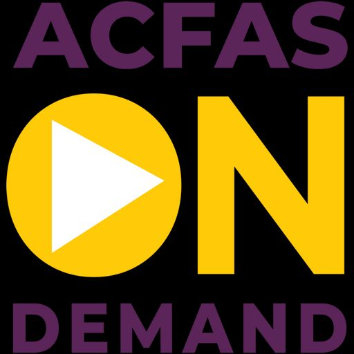 Cover art for podcast ACFAS On Demand