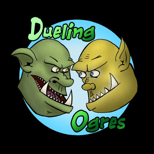 Cover art for podcast Dueling Ogres