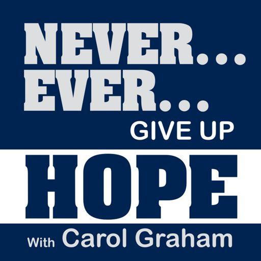 Cover art for podcast Never Ever Give Up Hope