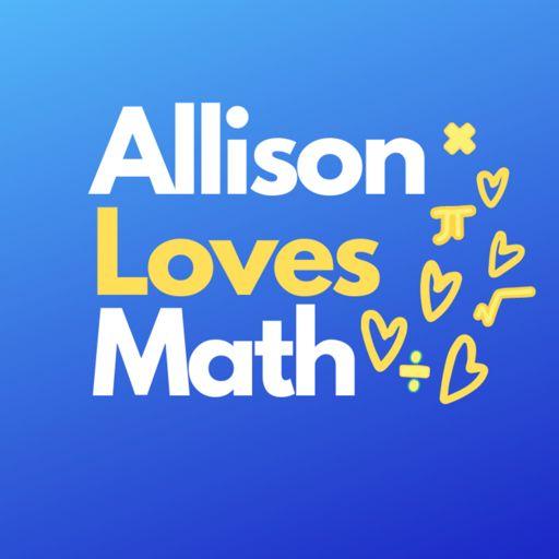 Cover art for podcast Allison Loves Math Podcast