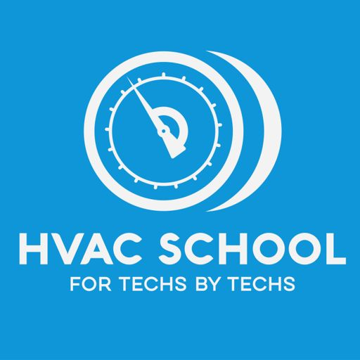 Cover art for podcast HVAC School - For Techs, By Techs