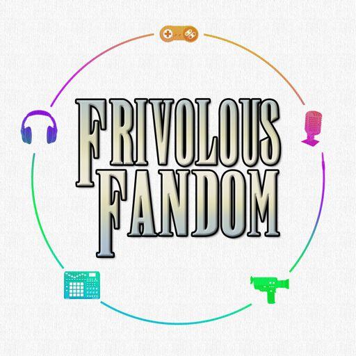 Cover art for podcast Frivolous Fandom: Movies, TV, Games & Pop Culture