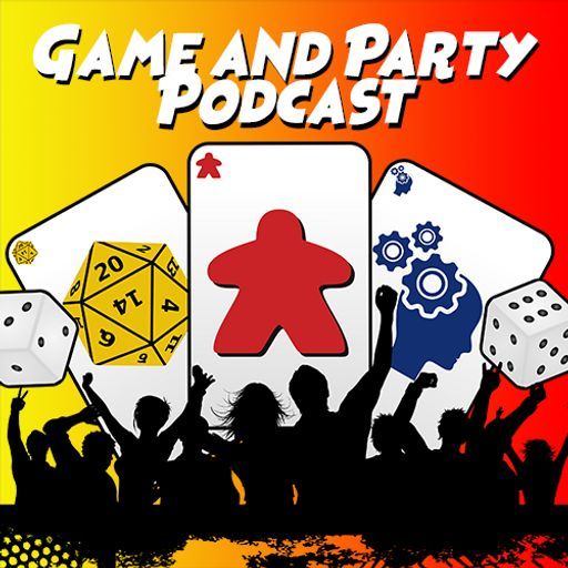 Cover art for podcast Game and Party Podcast
