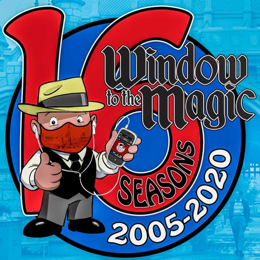 Cover art for podcast A WINDOW TO THE MAGIC: DISNEYLAND ADVENTURE PODCAST