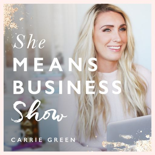 Cover art for podcast She Means Business Show
