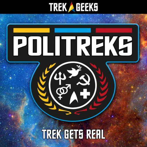 Cover art for podcast PoliTreks: A Star Trek Podcast