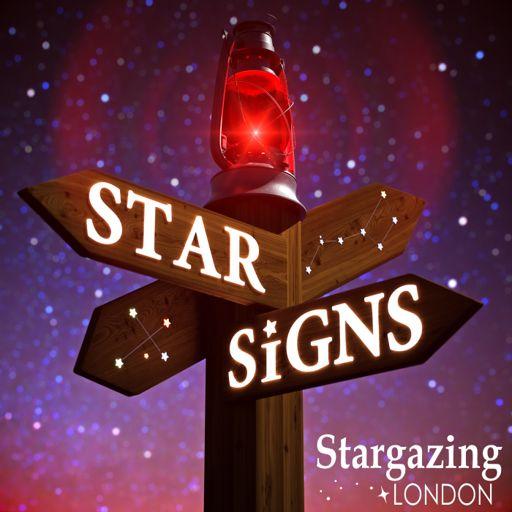 Cover art for podcast Star Signs: Go Stargazing!