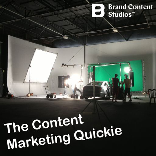Cover art for podcast Content Marketing Quickie