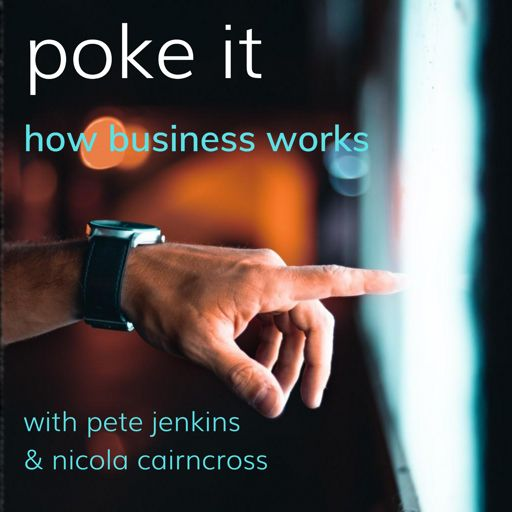 Cover art for podcast Poke It Podcast (How Business Works)