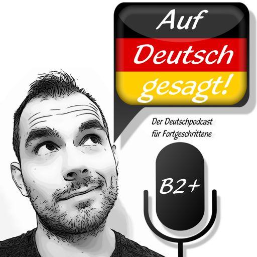 Cover art for podcast Auf Deutsch gesagt!