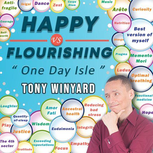 Cover art for podcast Happy Vs Flourishing