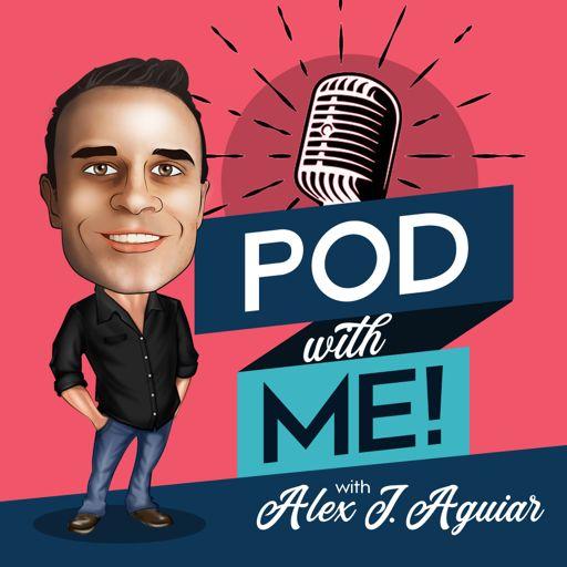 Cover art for podcast Pod with Me! Alex J. Aguiar