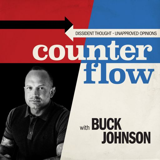 Cover art for podcast Counterflow with Buck Johnson