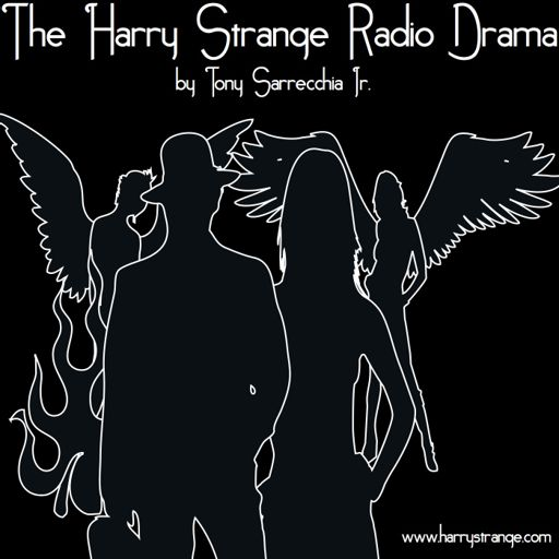 Cover art for podcast Harry Strange Radio Drama TOS