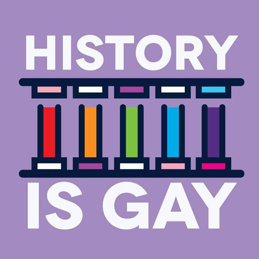 Cover art for podcast History is Gay