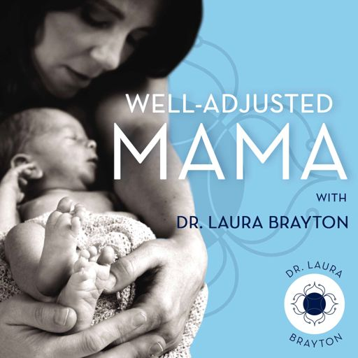Cover art for podcast Well-Adjusted Mama