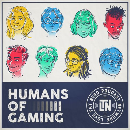 Cover art for podcast Humans of Gaming Podcast