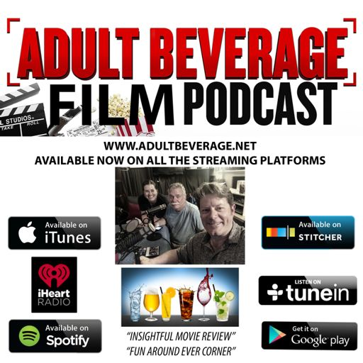Cover art for podcast Adult Beverage Film Podcast
