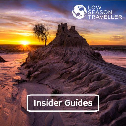 Cover art for podcast Low Season Traveller Insider Guides