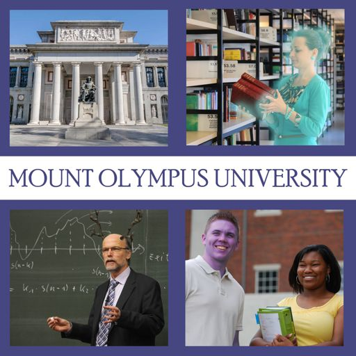 Cover art for podcast Mount Olympus University