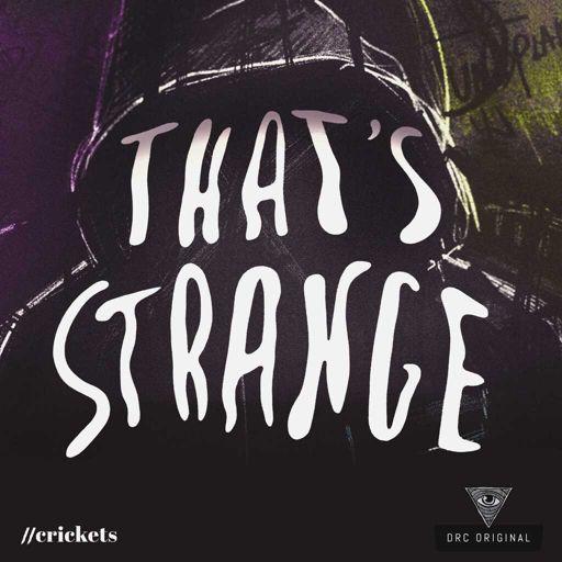 Cover art for podcast That's Strange