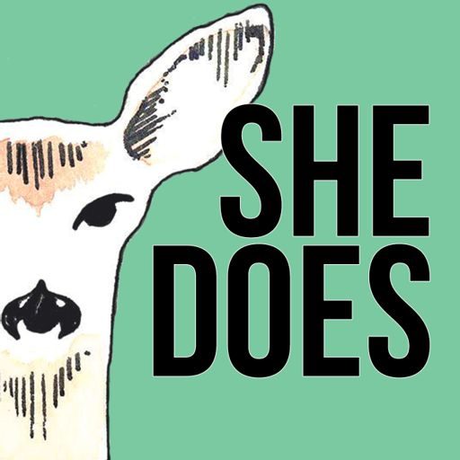 Cover art for podcast She Does
