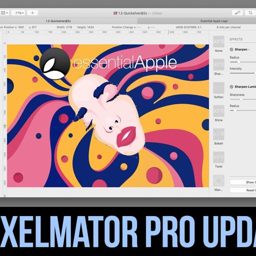 Essential Apple Podcast 112: A Pixelmator Pro Update from The