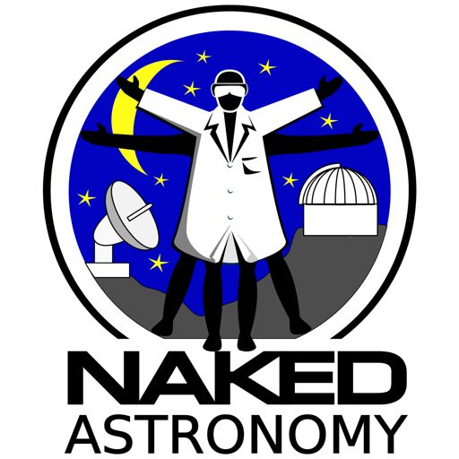 Cover art for podcast Naked Astronomy, from the Naked Scientists