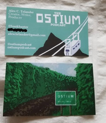 Ostium business cards