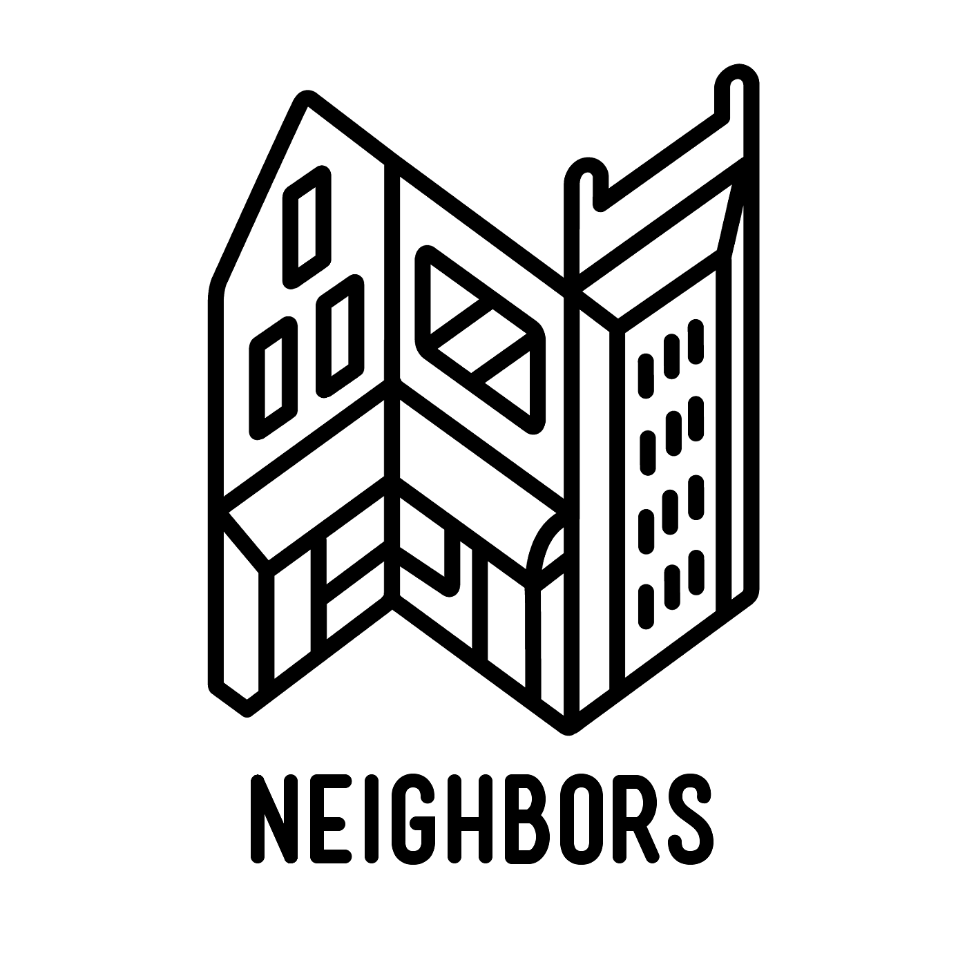 Neighbors album art