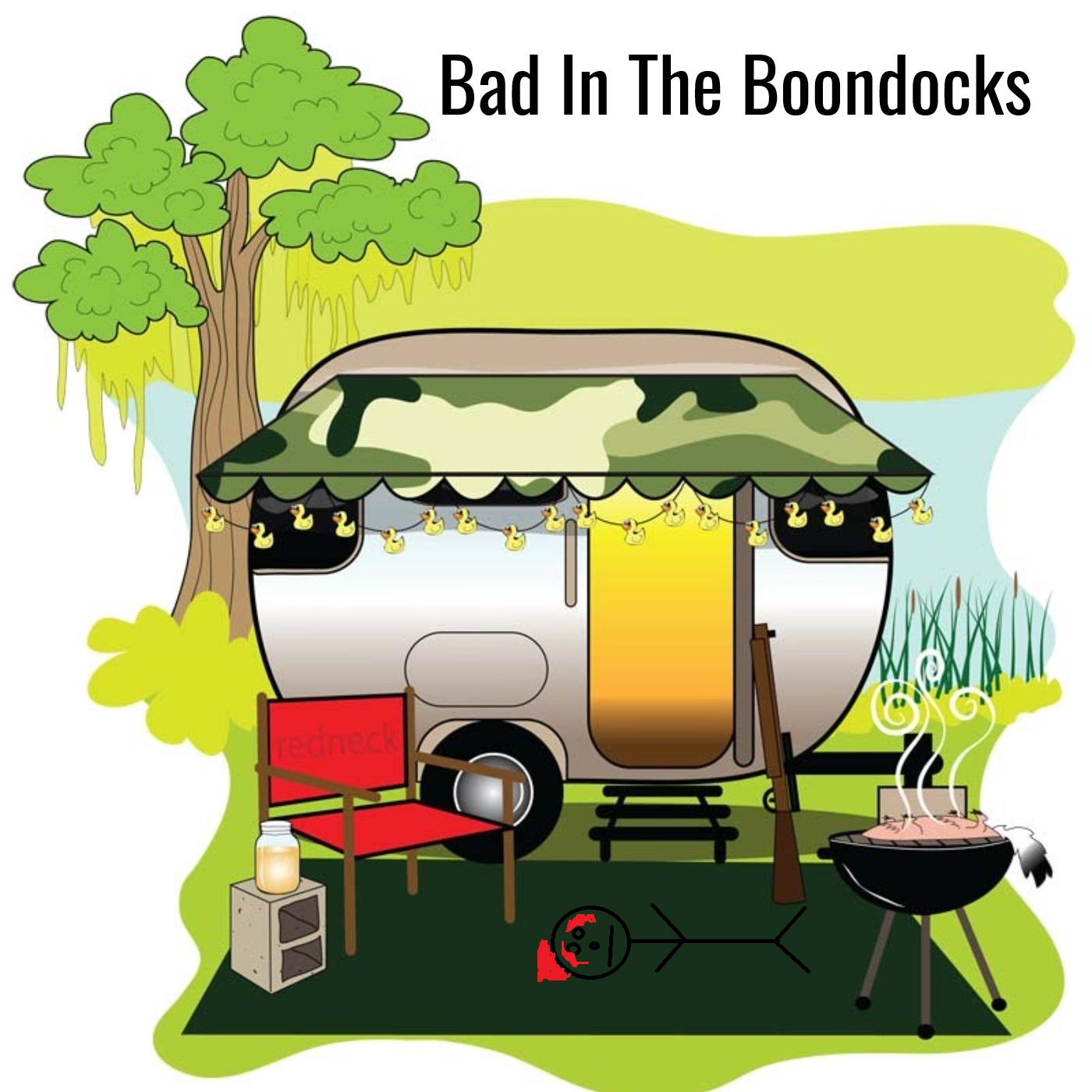 Bad In The Boondocks album art