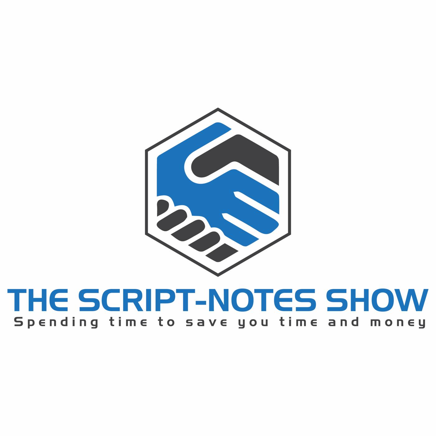 The Script-Notes Show album art